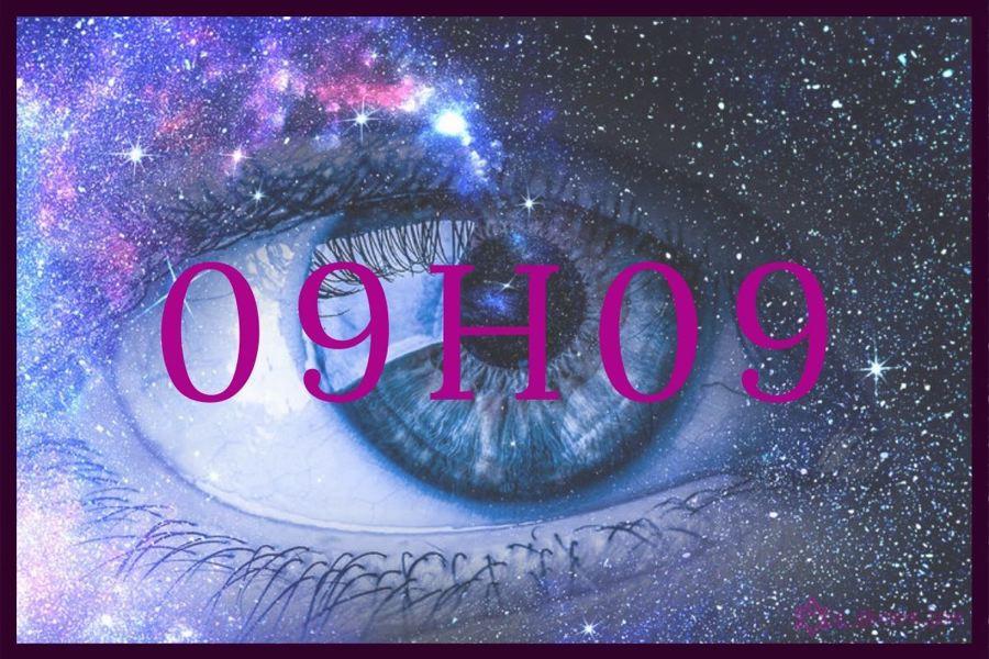 heure miroir 09h09 : quel est le message des anges