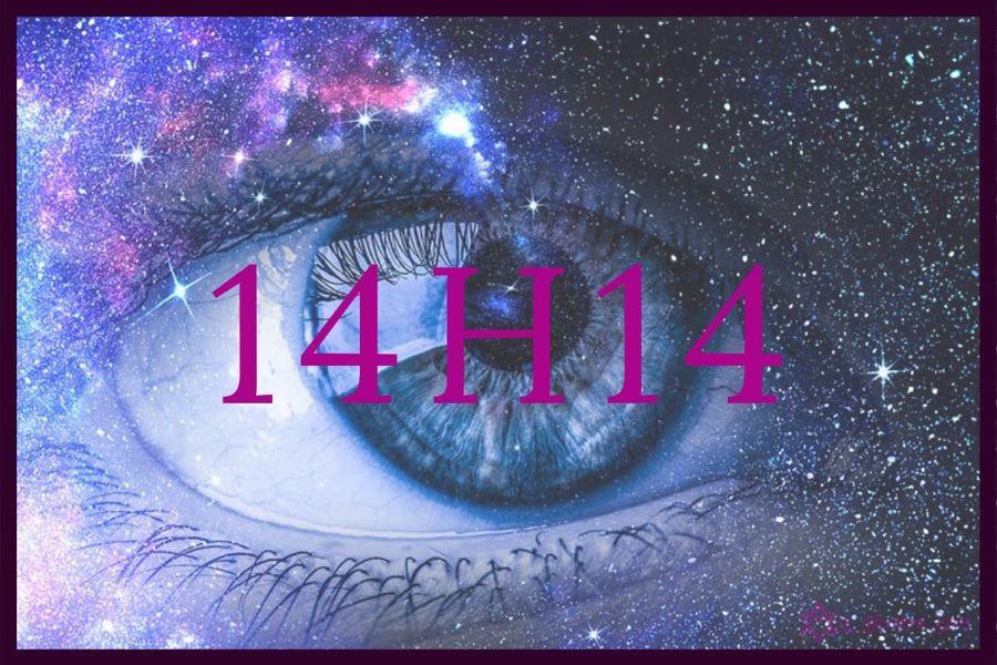 heure miroir 14h14 : quel est le message des anges