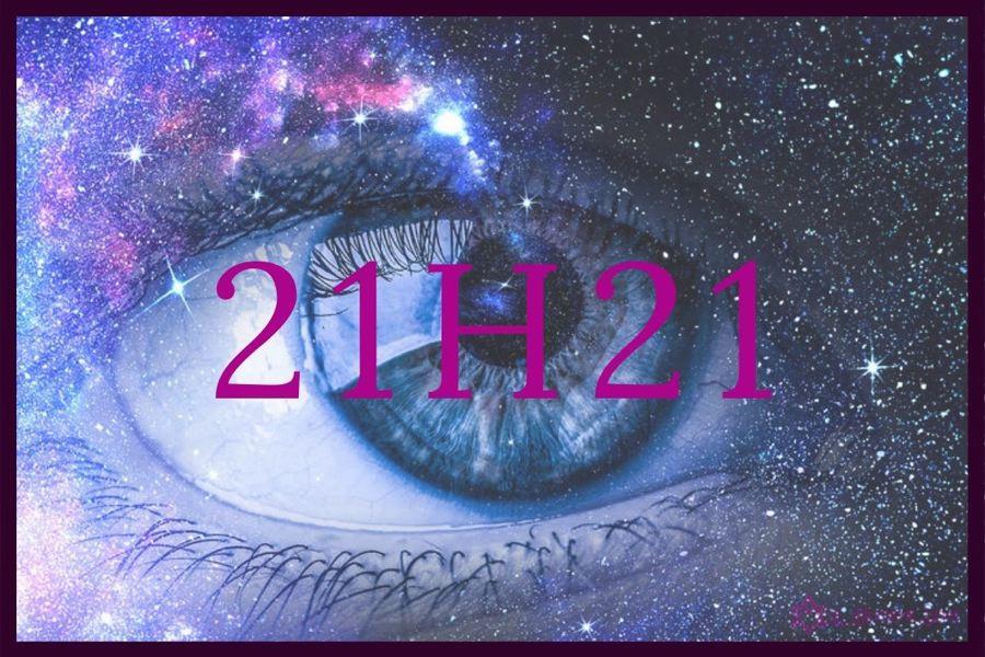 heure miroir 21h21 : quel est le message des anges