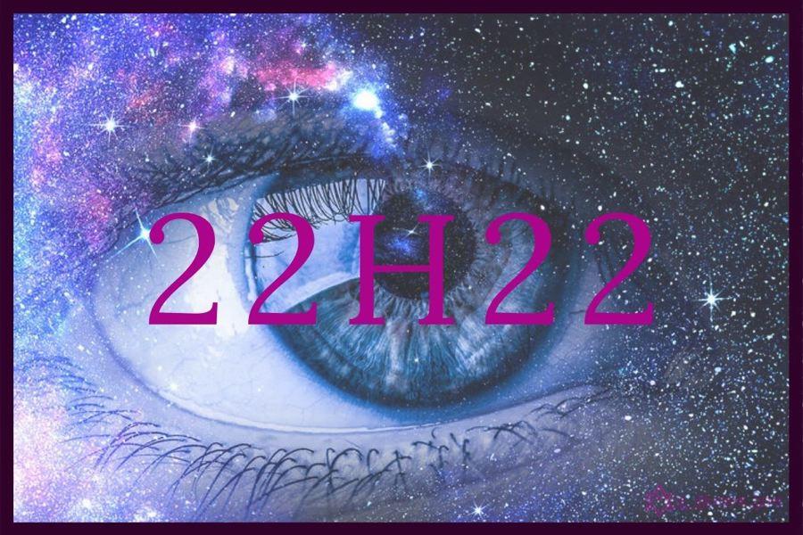 heure miroir 22h22 : quel est le message des anges